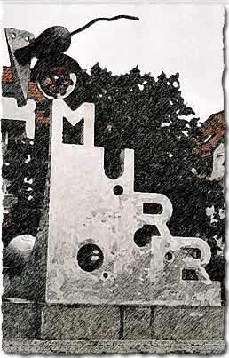 Murr-Skulptur